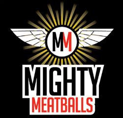 MIghty Meatballs logo